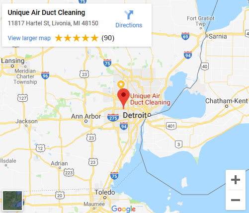 Unique Air Duct Cleaning in Livonia Michigan