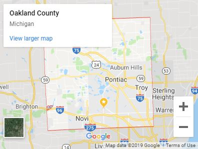 Serving-Oakland-County-Michigan-map